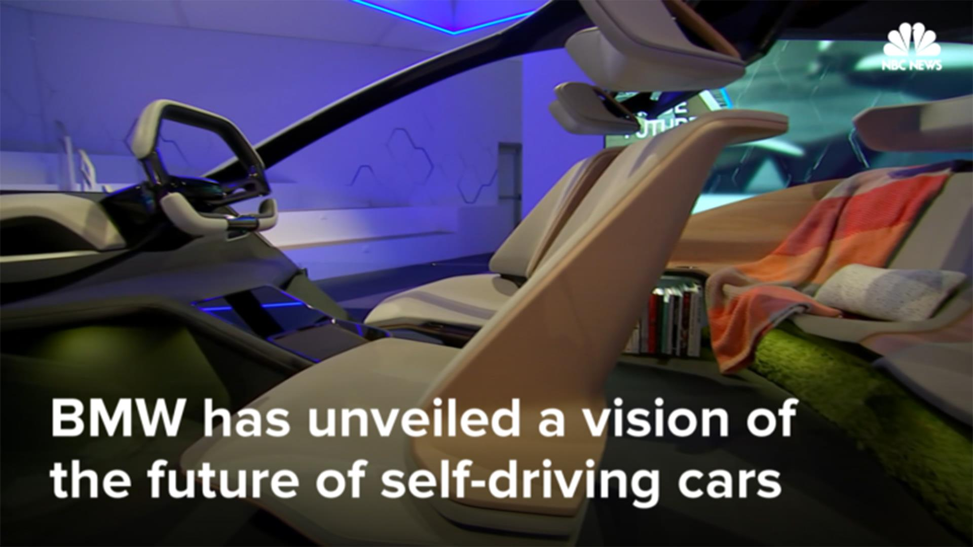 The Self Driving Car Controlled By Holograms Television