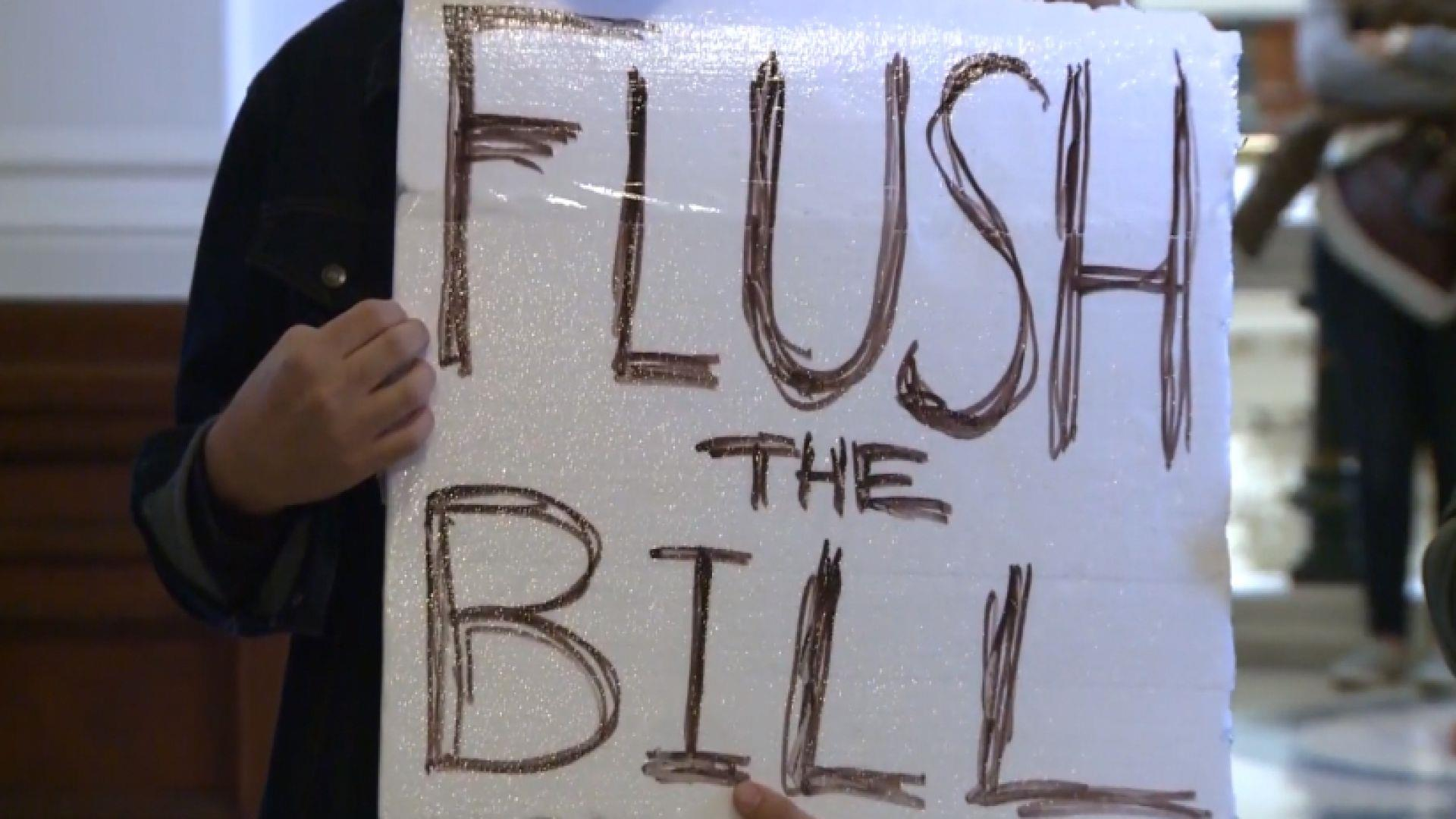 New texas bathroom bill causes protests nbc news - Which states have bathroom bills ...