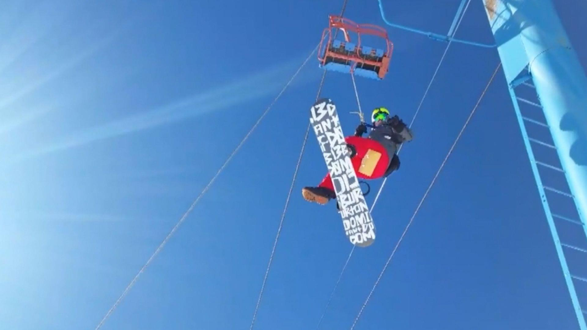 Power Outage Leaves Skiers Hanging - NBC News