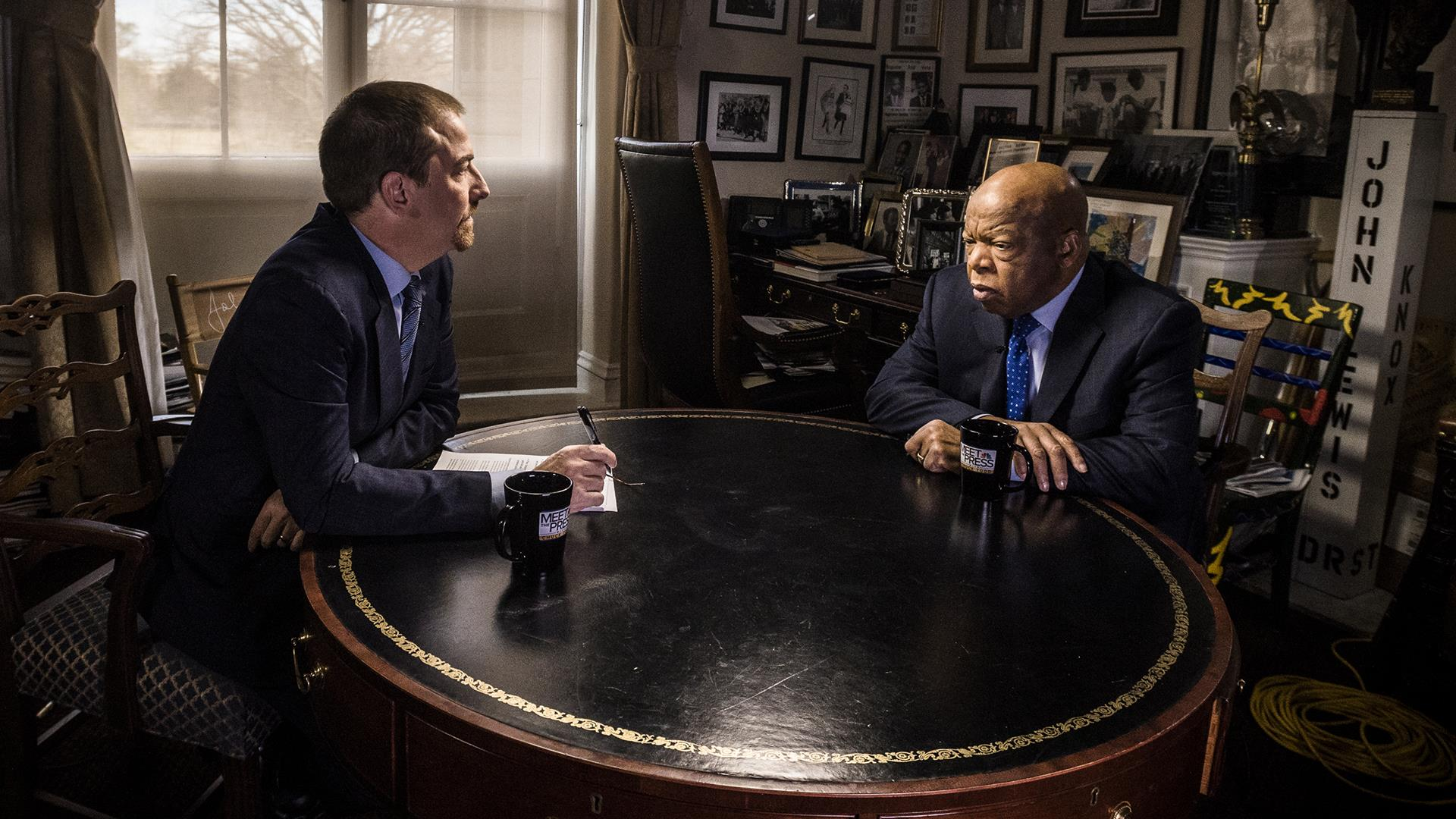 Full John Lewis Interview: 'We must not be silent'