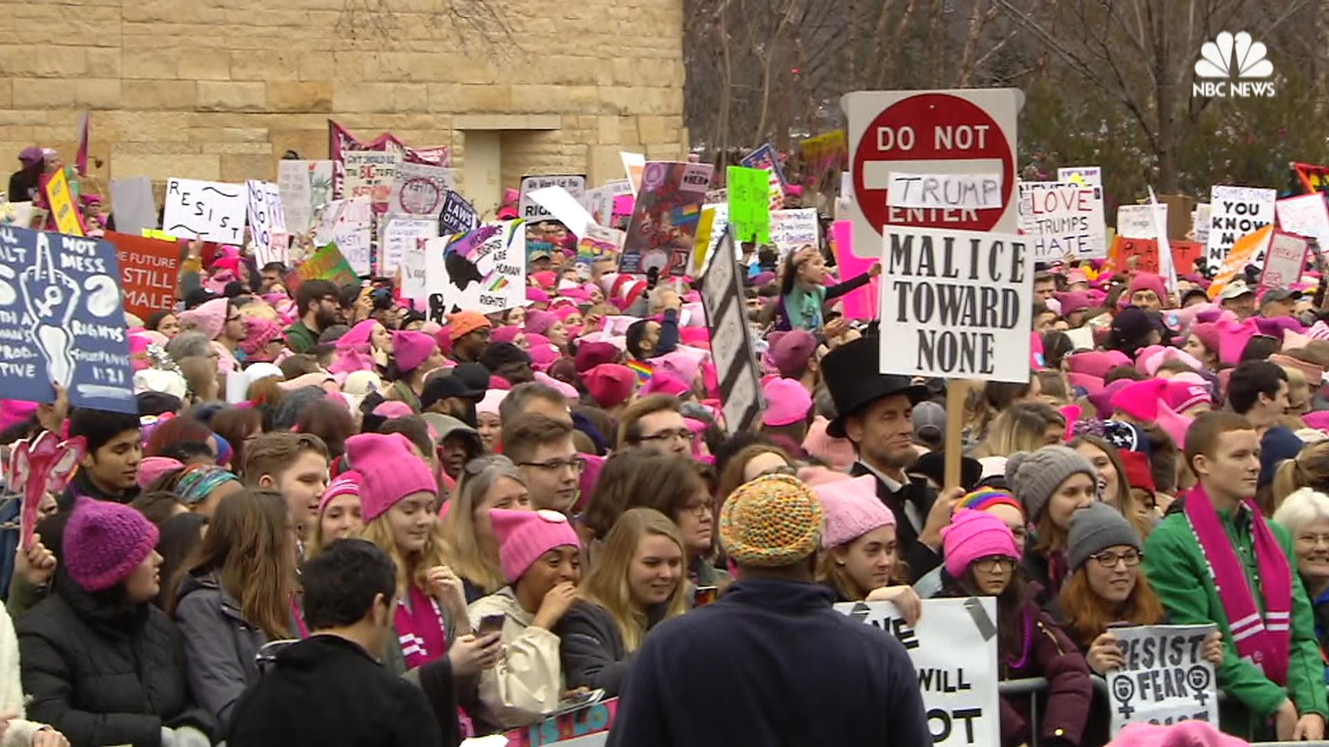Womens march pink-1609