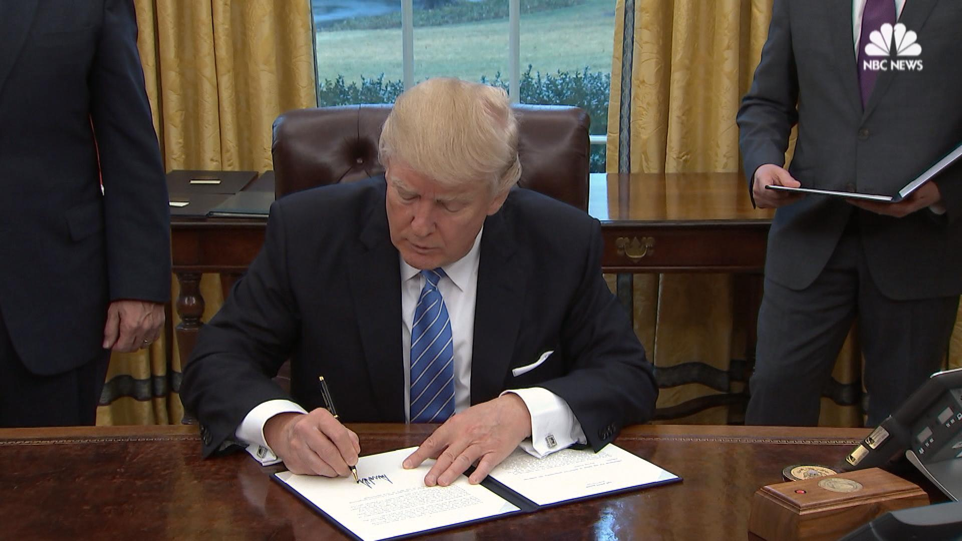Donald Trump's First Six Days in Office: Here's What He's Done