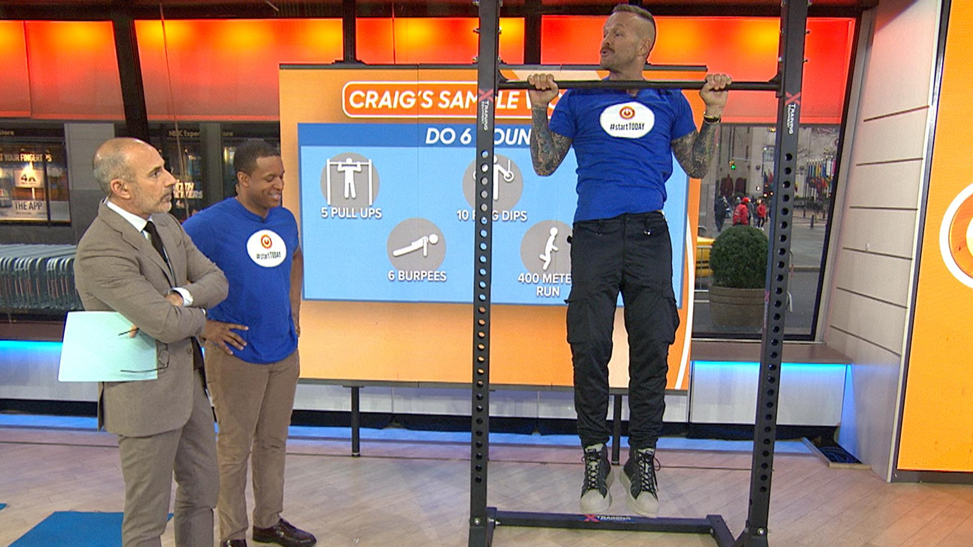 #StartTODAY: 'Biggest Loser' coach Bob Harper shares fat-burning exercises