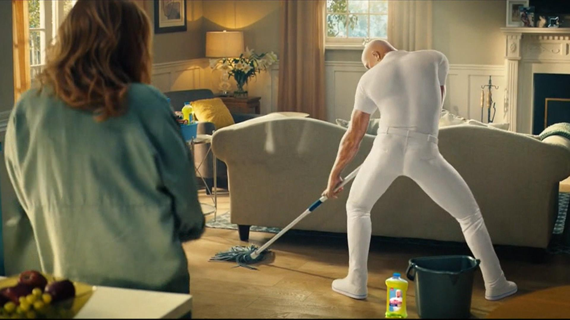 Meet The Sexy New Mr Clean First Look At Hilarious Super