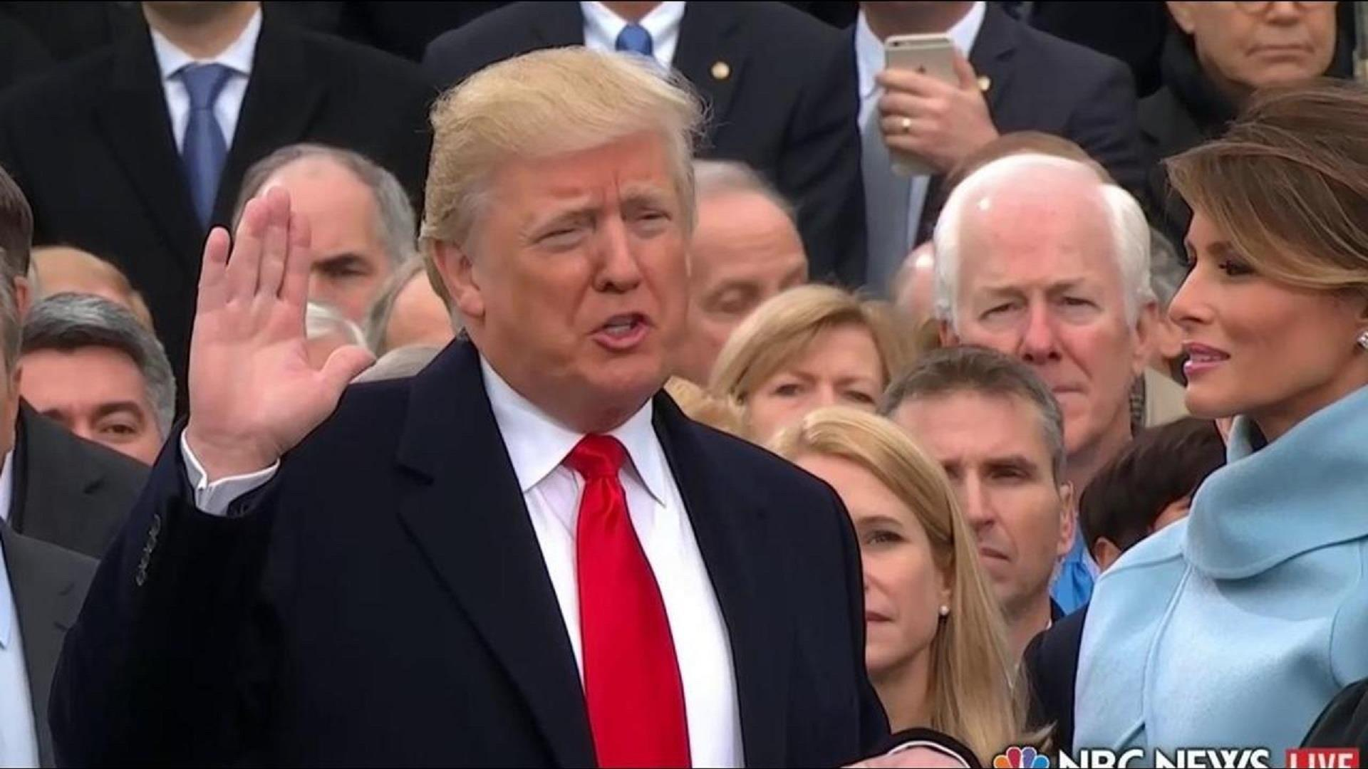 Watch Donald Trump take Oath of Office for...