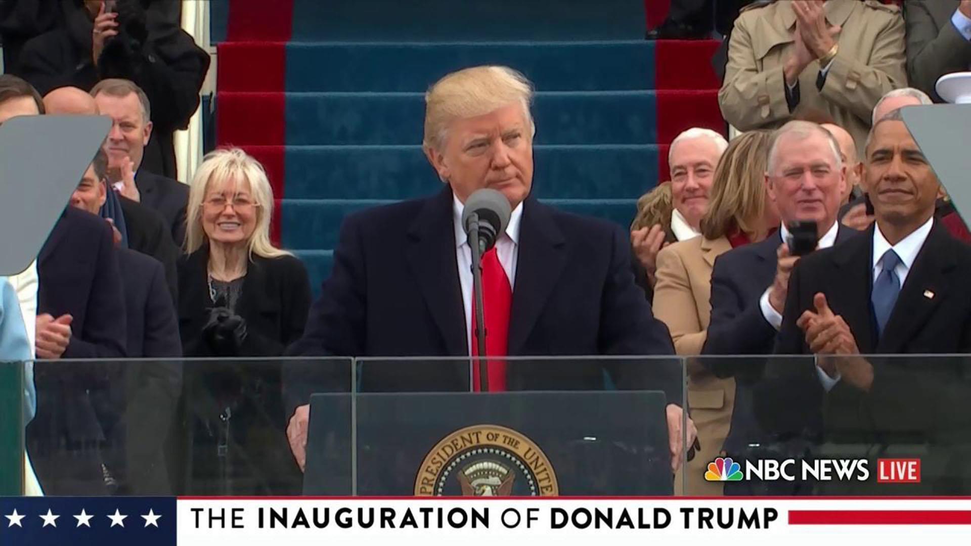 Watch Donald Trump's full inaugural address