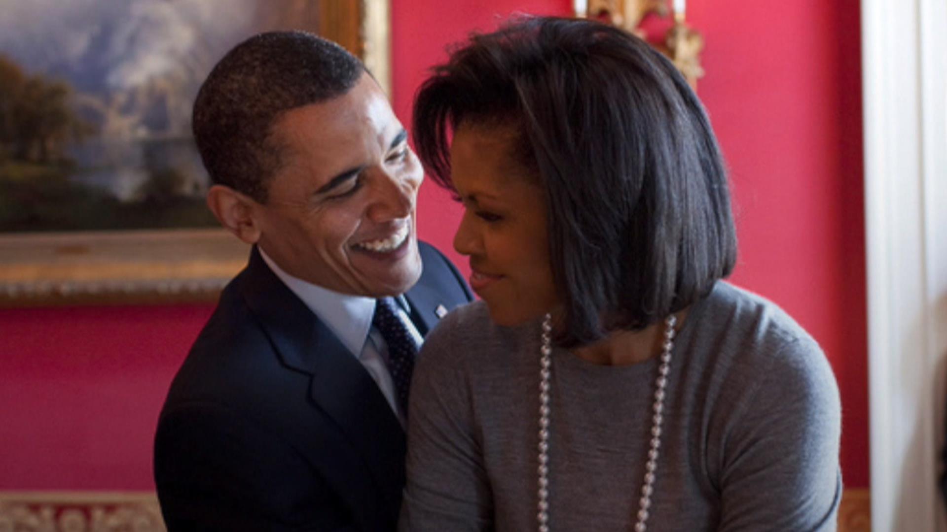 Barack obama and michelle obama kids