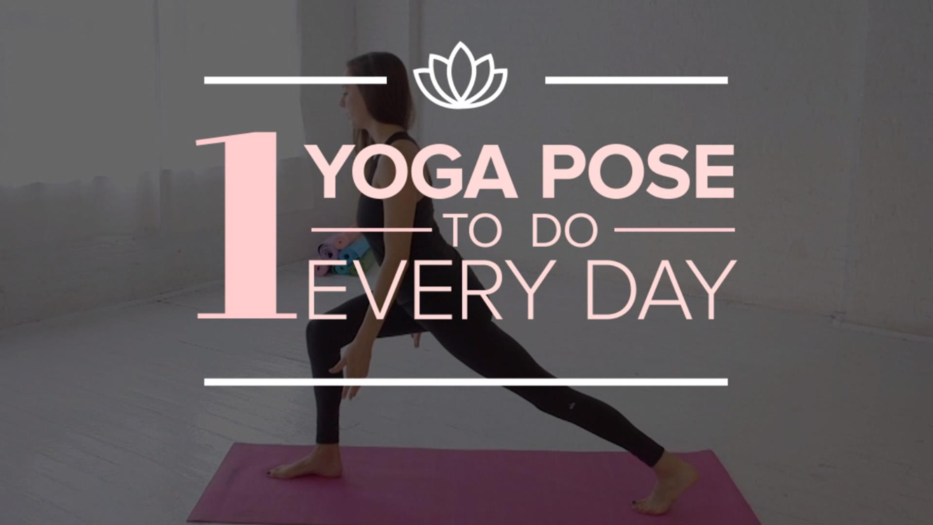 Bathroom Yoga Poses the 1 yoga pose to do every day - today