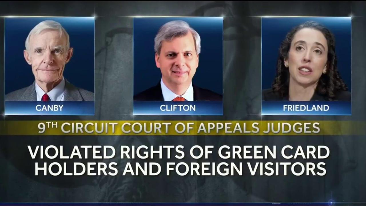 Judge Rules States' Case Against Trump Travel Order Can Proceed