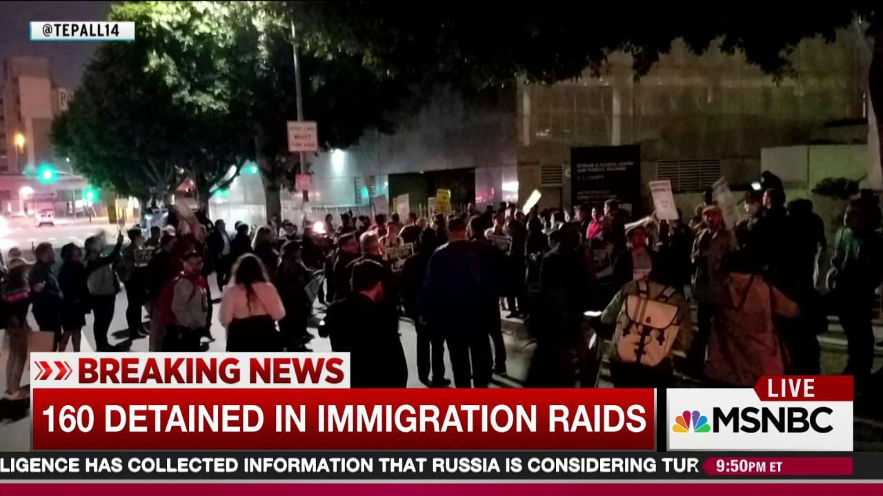 ICE Says California Immigration Raids Planned Before Trump
