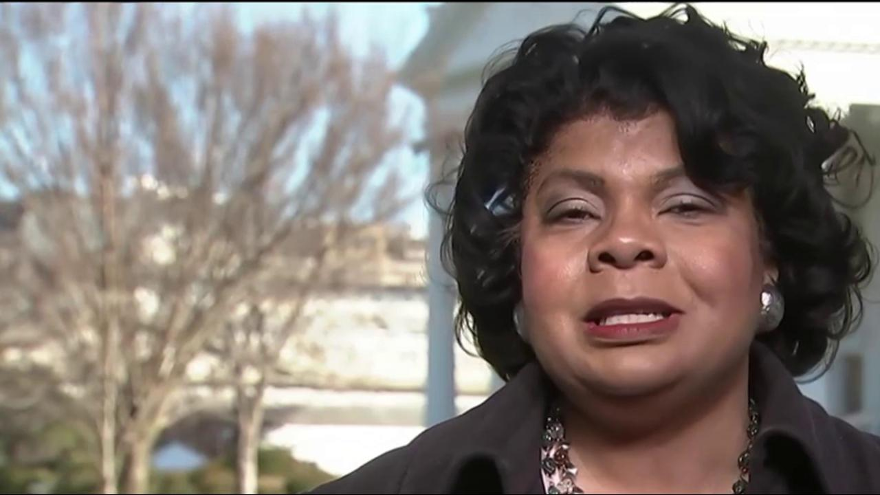 April Ryan reacts to Trump's CBC remarks