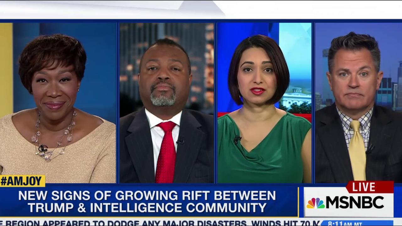 The rift between intelligence community...