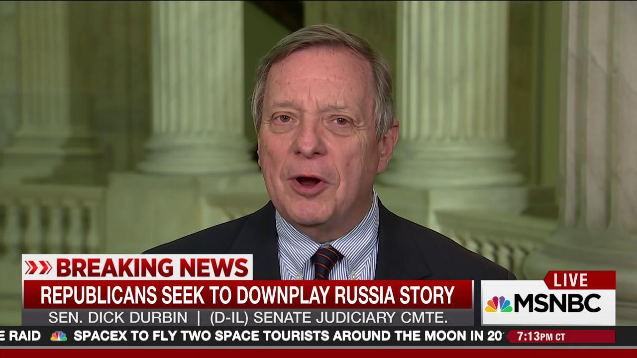 Sen. Durbin: GOP trying to bury Russia...