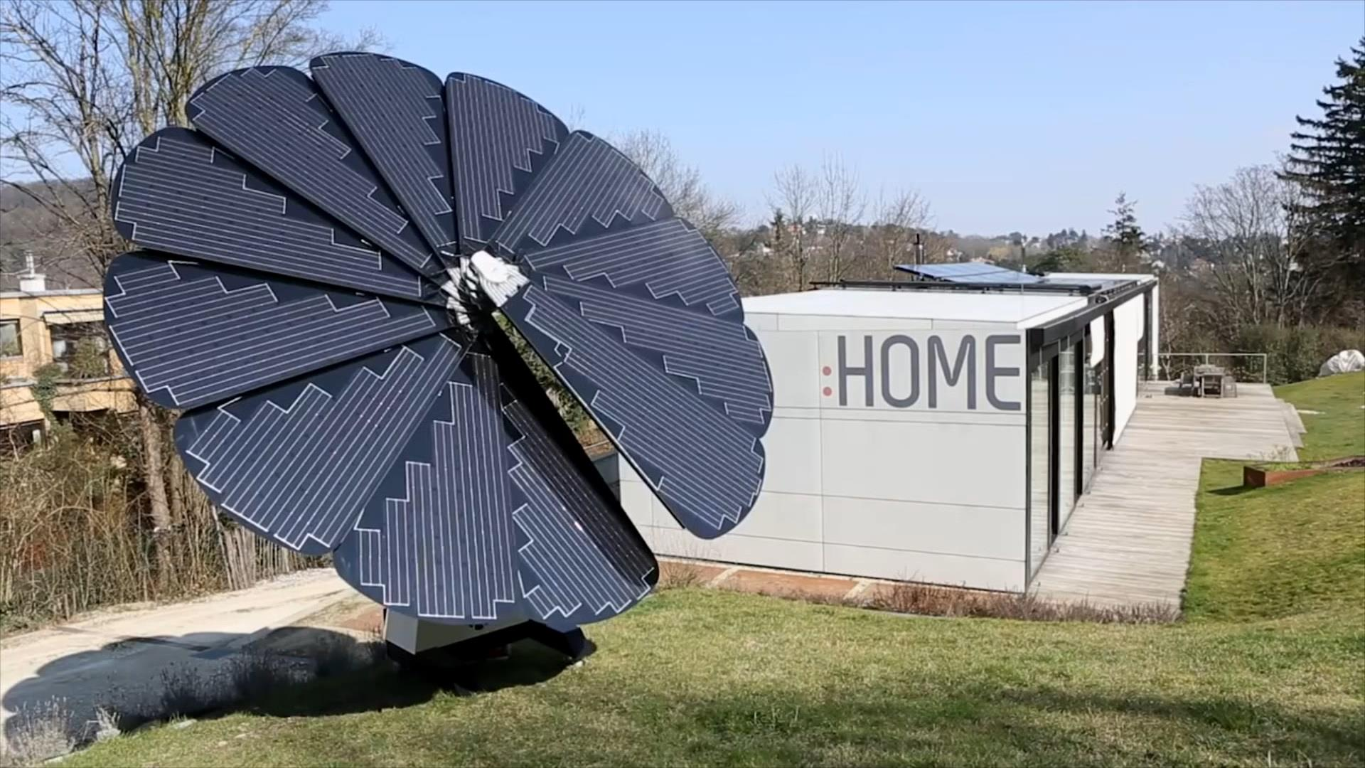 This Flower Shaped Solar Panel Array Follows The Sun Nbc