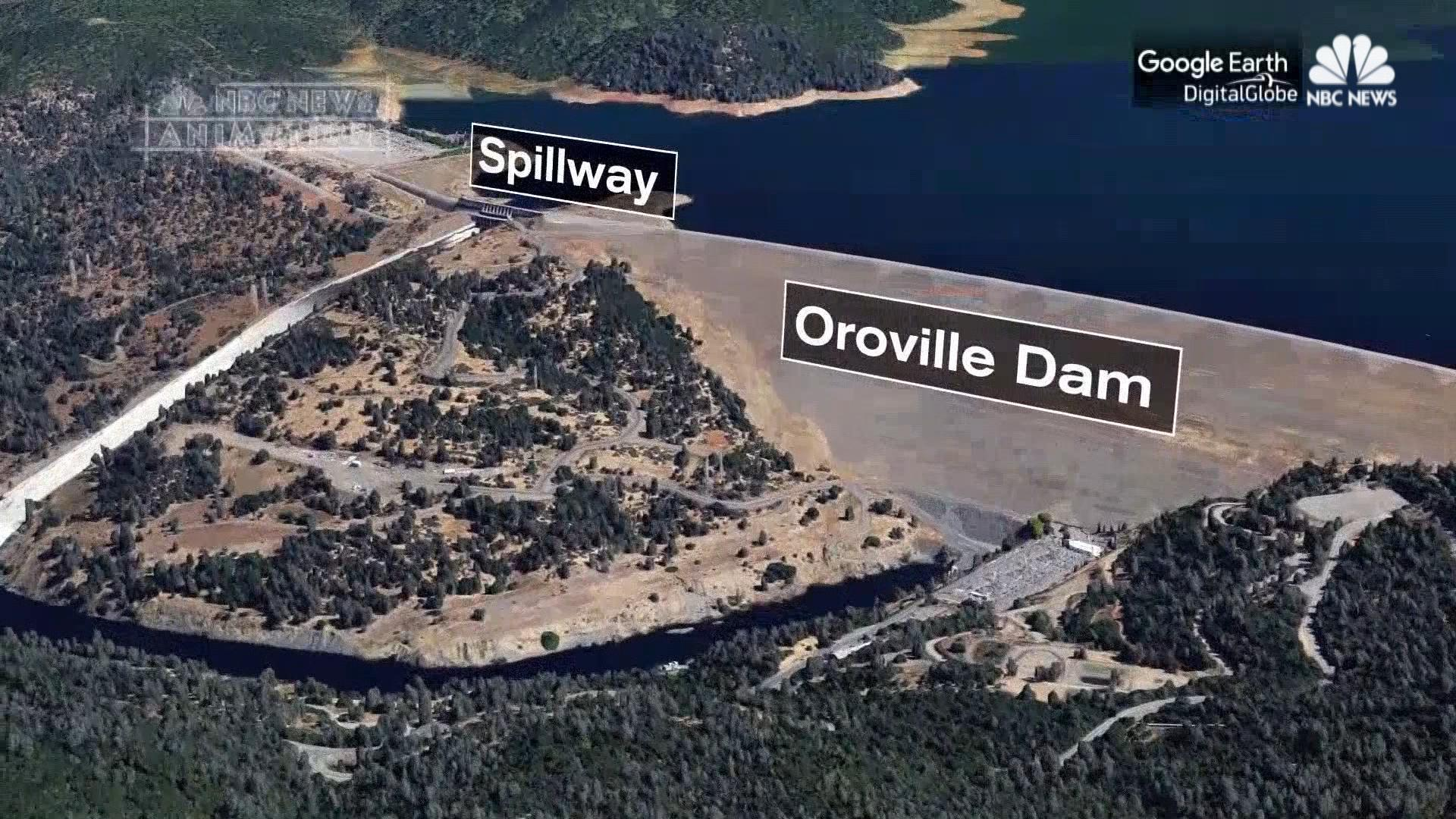 california braces for week of heavy rain after oroville spillway