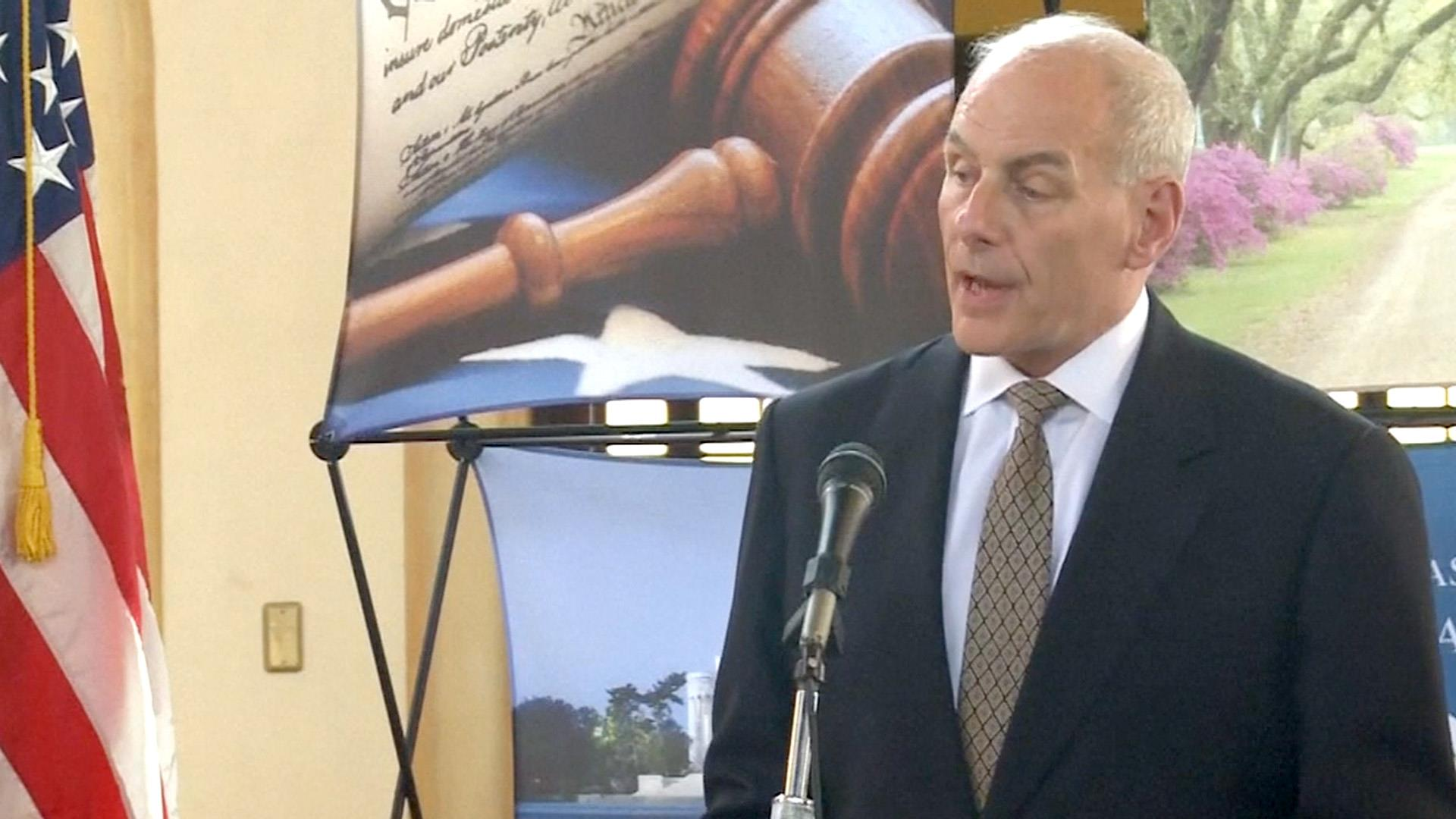 Secy. Kelly: There Will Be No Mass Undocumented Immigrant Roundups