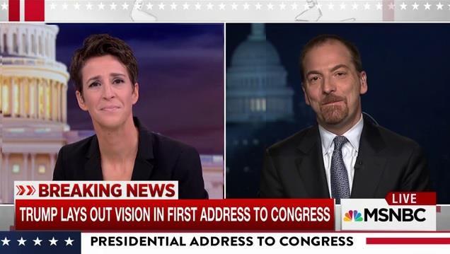 Chuck Todd: Trump speech was Bannon's agenda with Priebus tone