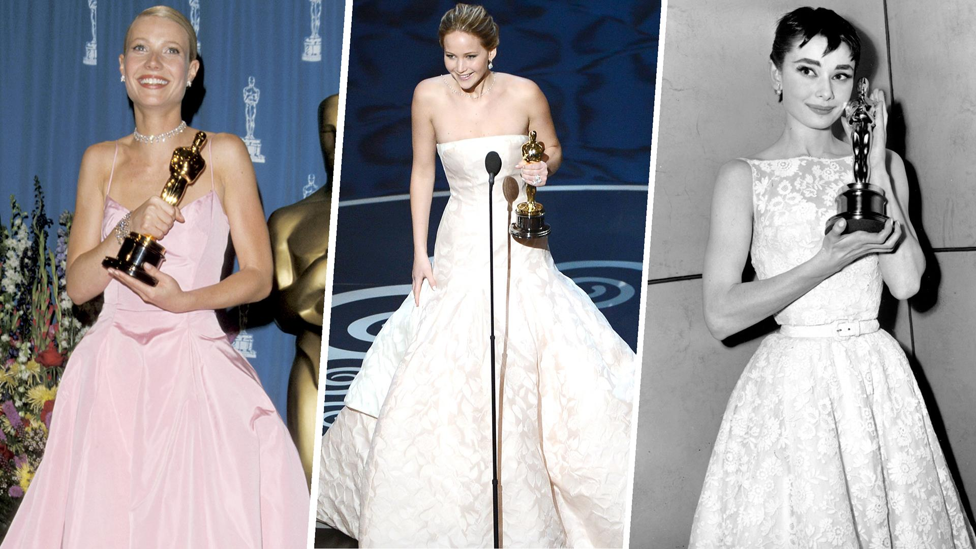 Oscar winning celebrity wedding dresses - See All The Best Actress Oscar Winners And Their Gowns
