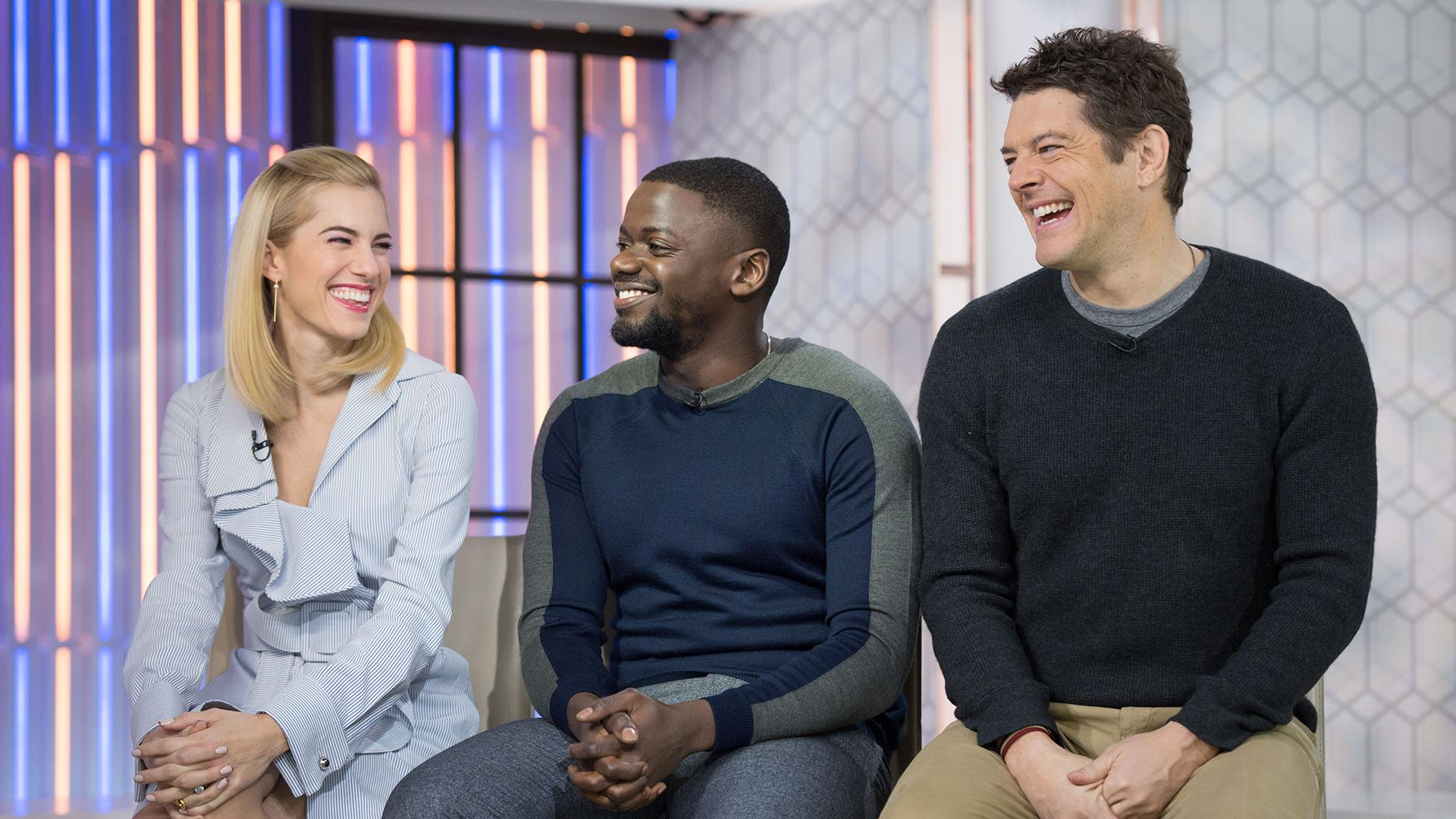 Allison Williams and co-stars talks new movie 'Get Out ...