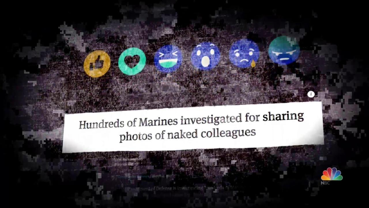 Nude Photo Posts of Female Marines Being Investigated by NCIS