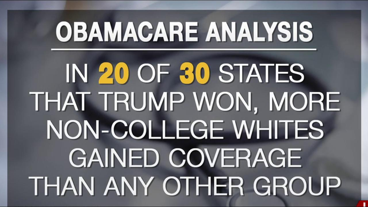 Trump voters among those to lose health...