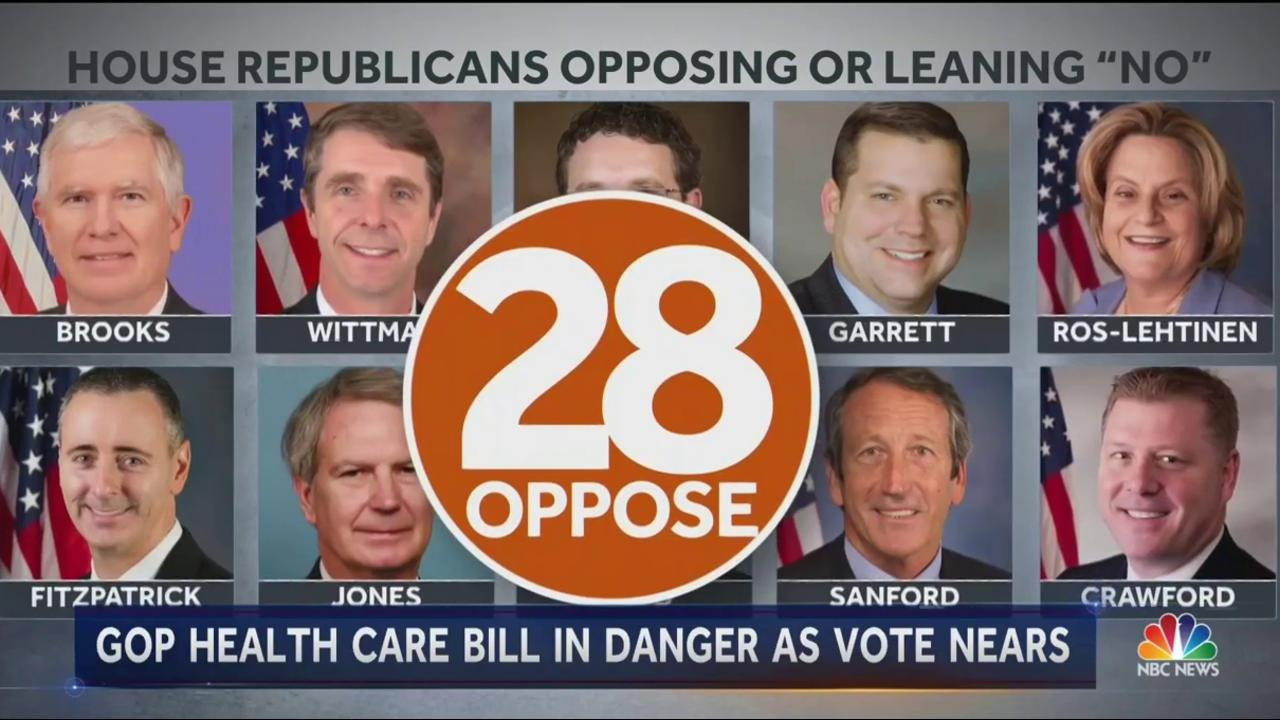 republican health care vote: everything you need to know - nbc news
