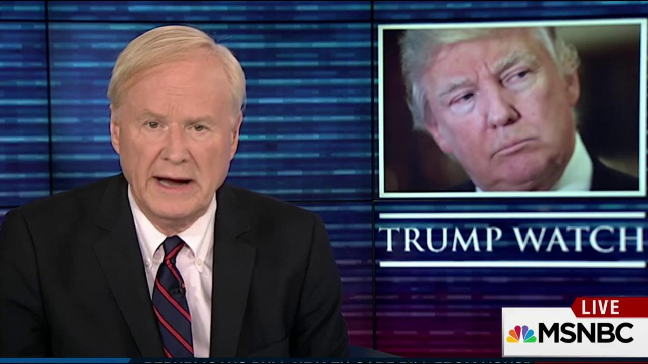 Chris Matthews: This has been a bad week...