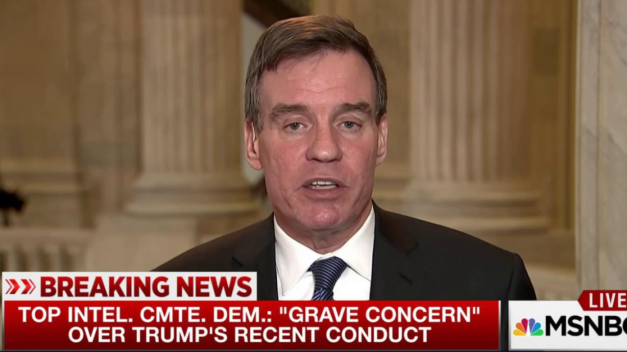 Sen. Warner on Russians: 'They'll be back...
