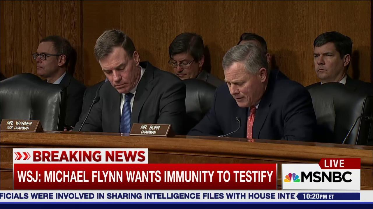 Senate Intel Committee stands up to Trump