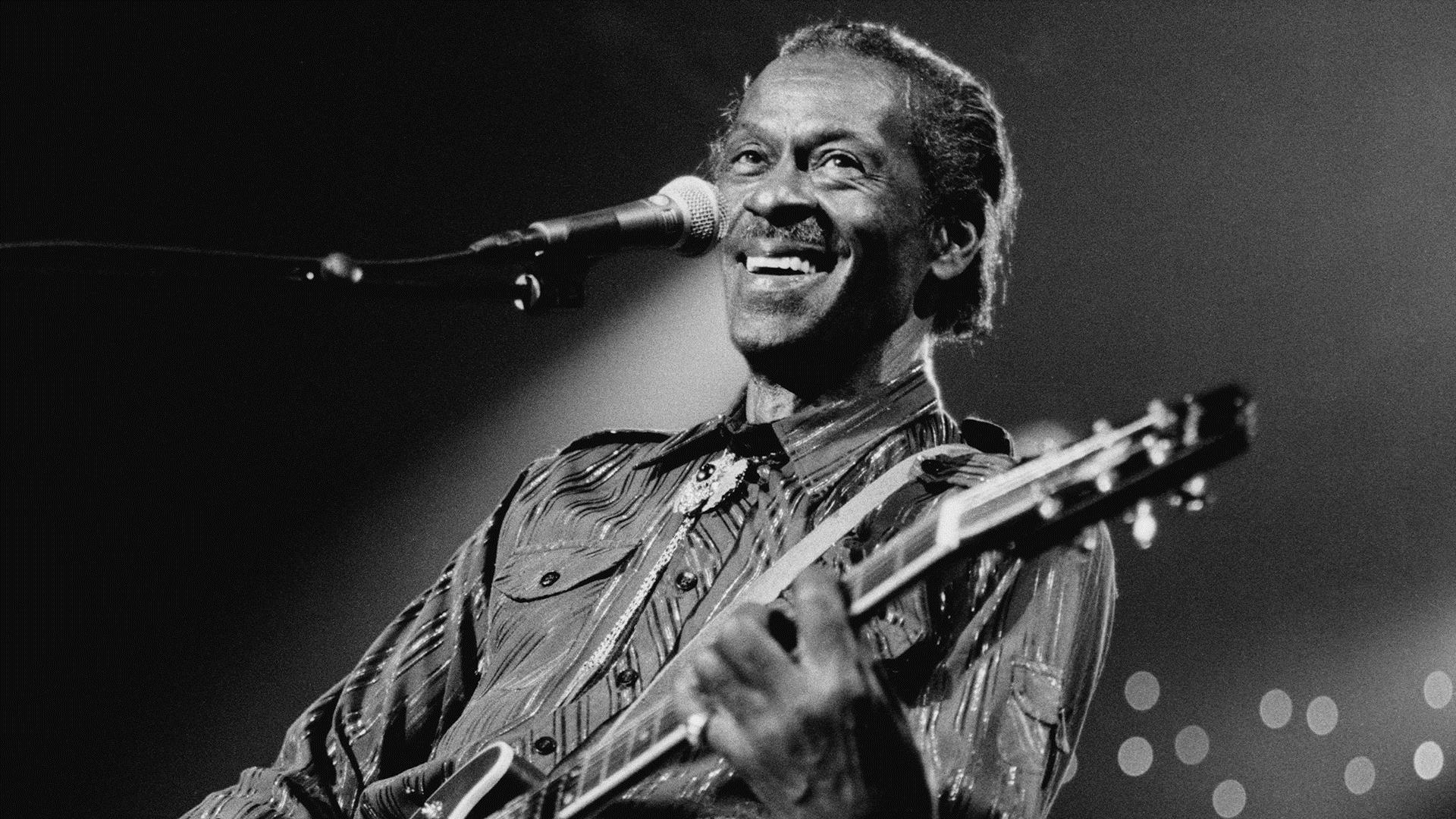 Chuck Berry Remembered In Rock N Roll Style