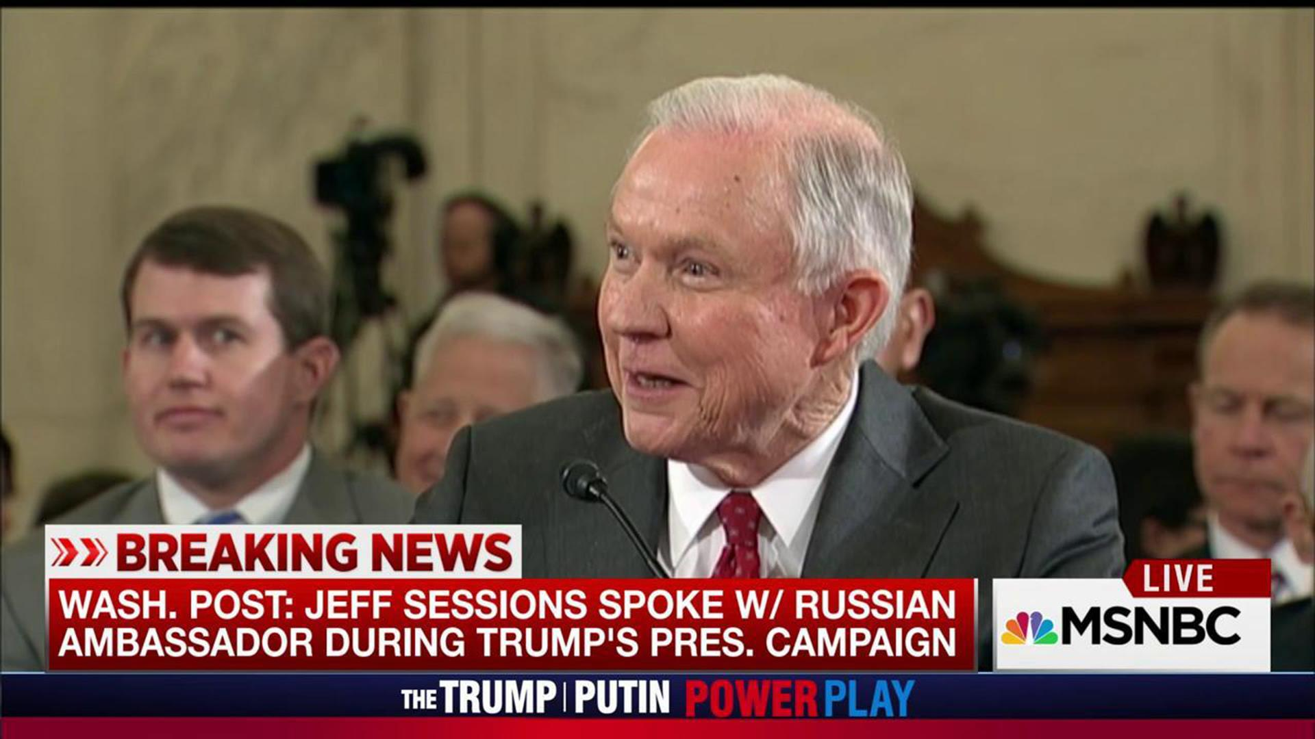 WP: Trump camp's Sessions, Russian amb spoke