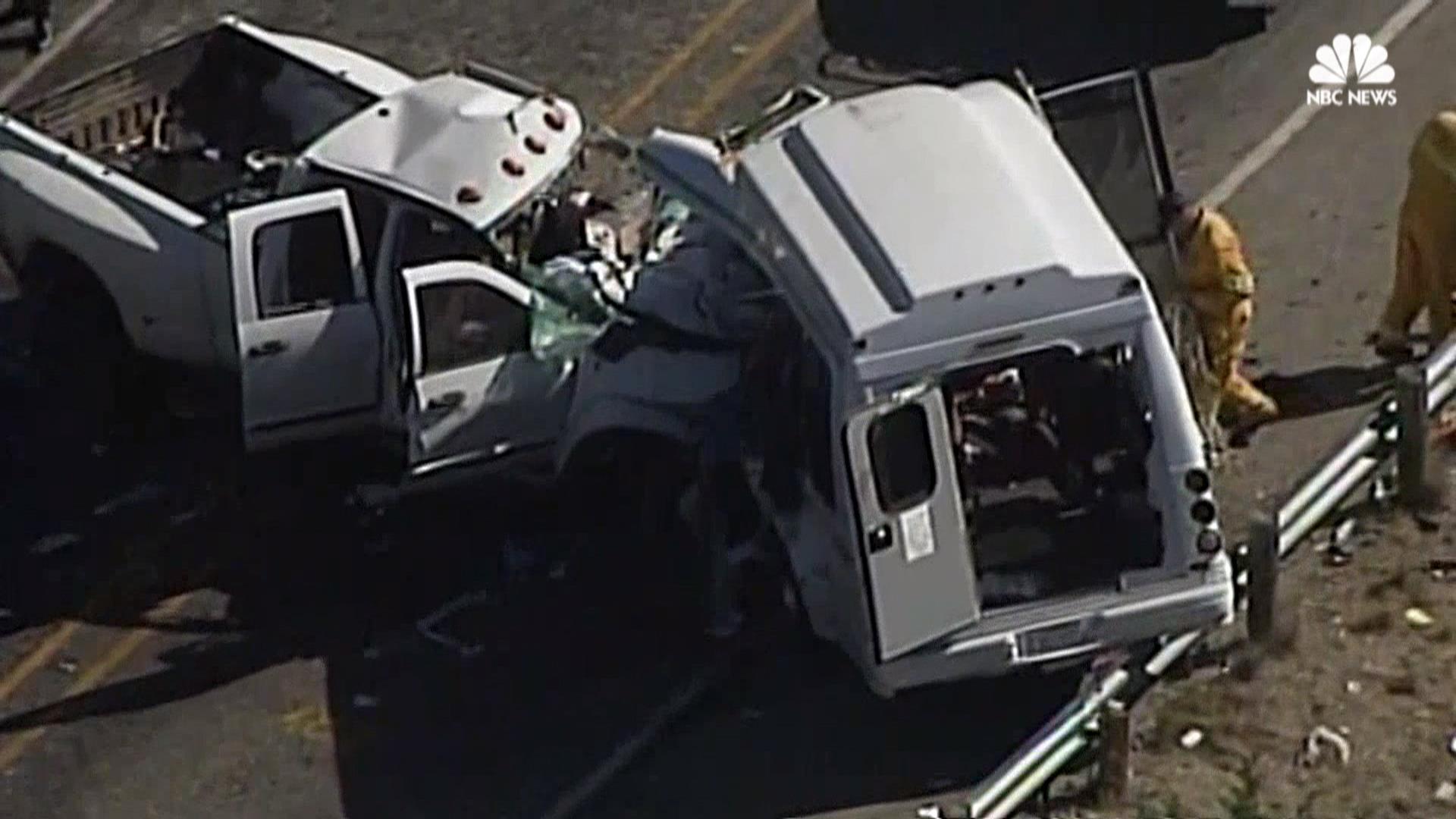 Texas church van accident kills 13