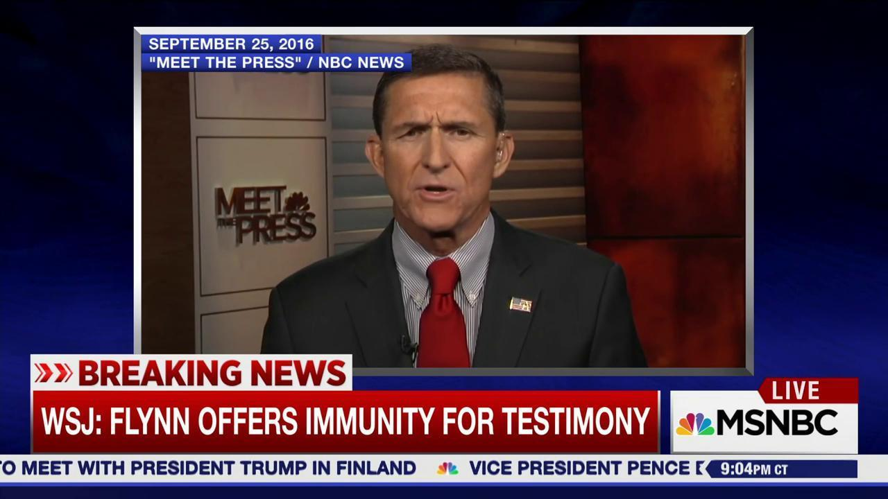 Bombshell report: Michael Flynn will...
