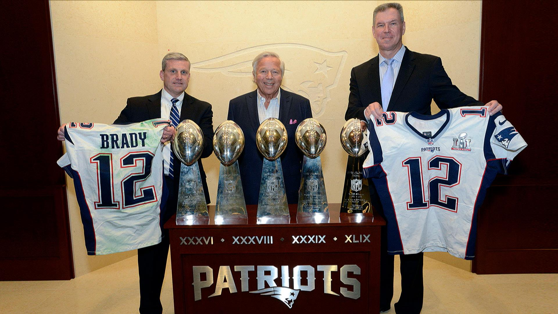 Tom Brady's Super Bowl jerseys are safely returned at last