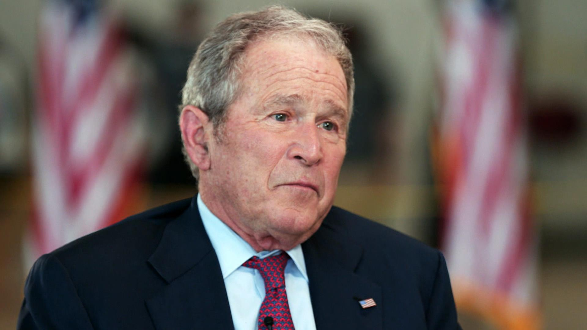 George W. Bush: 'It was the right decision' to go into ...