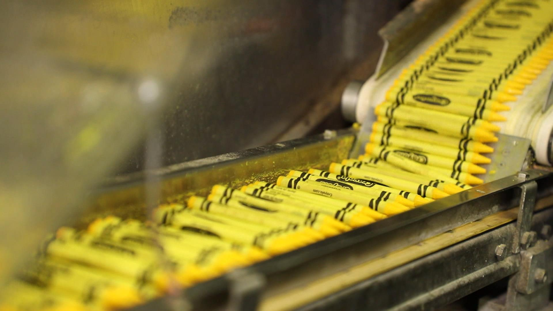 Inside The Crayola Factory See How The Iconic Crayons Are