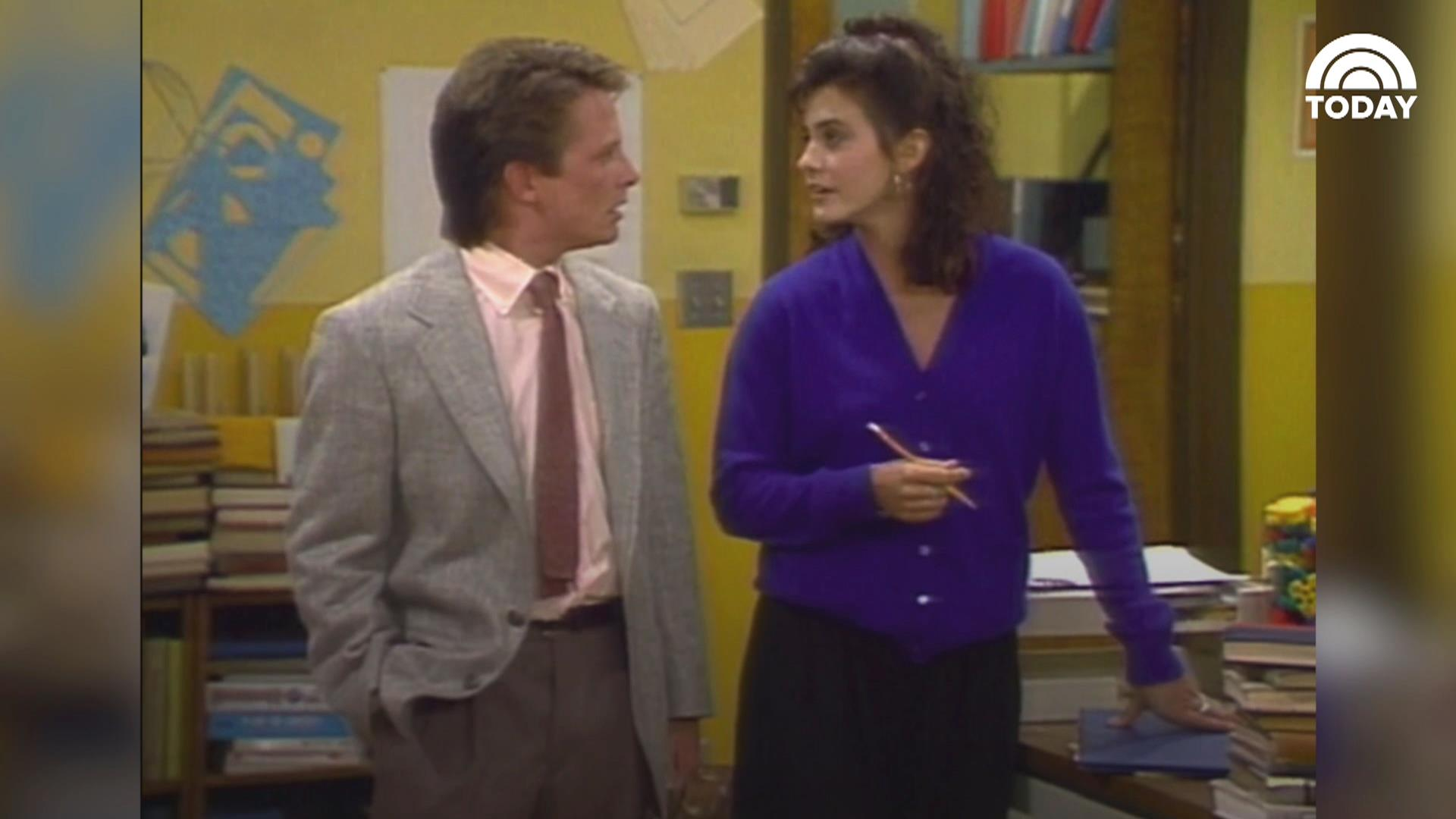 9 who appeared on family ties today