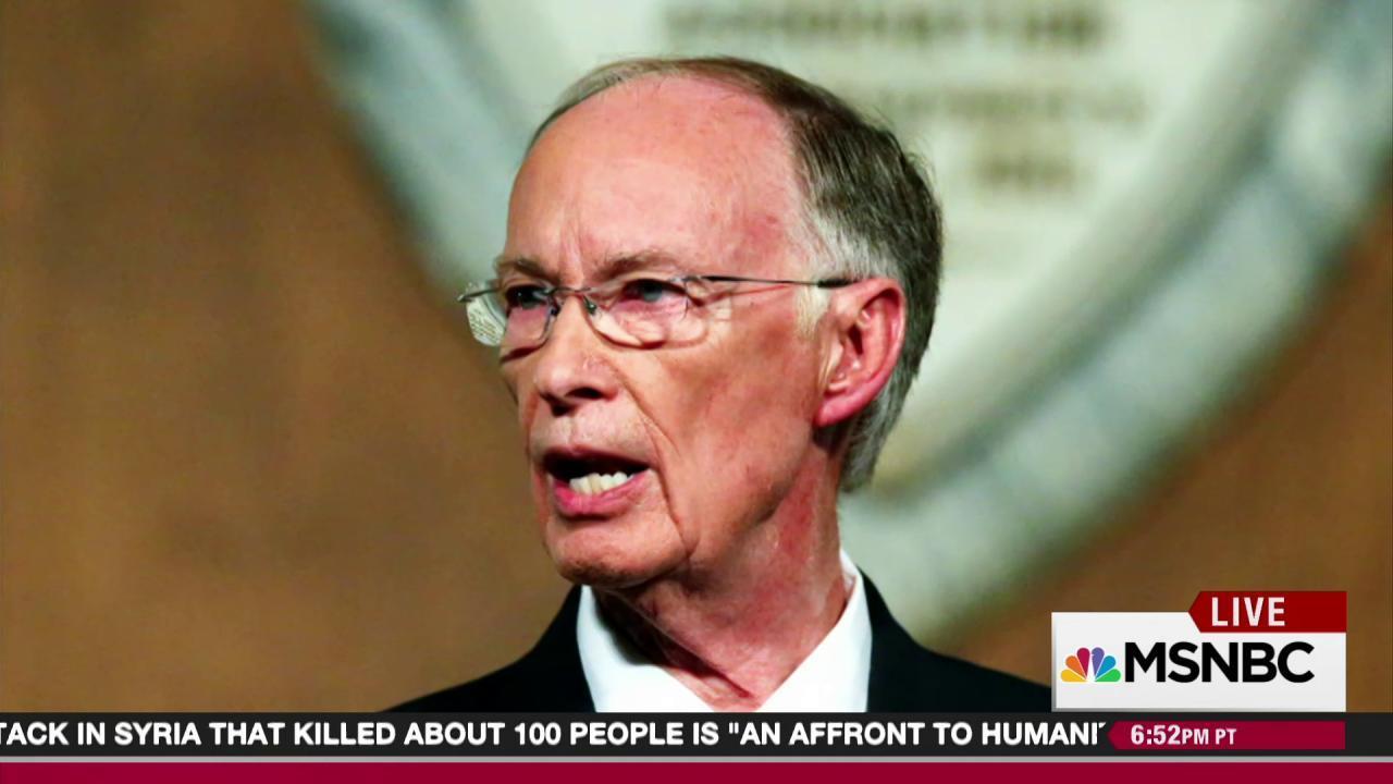 Alabama governor referred for prosecution