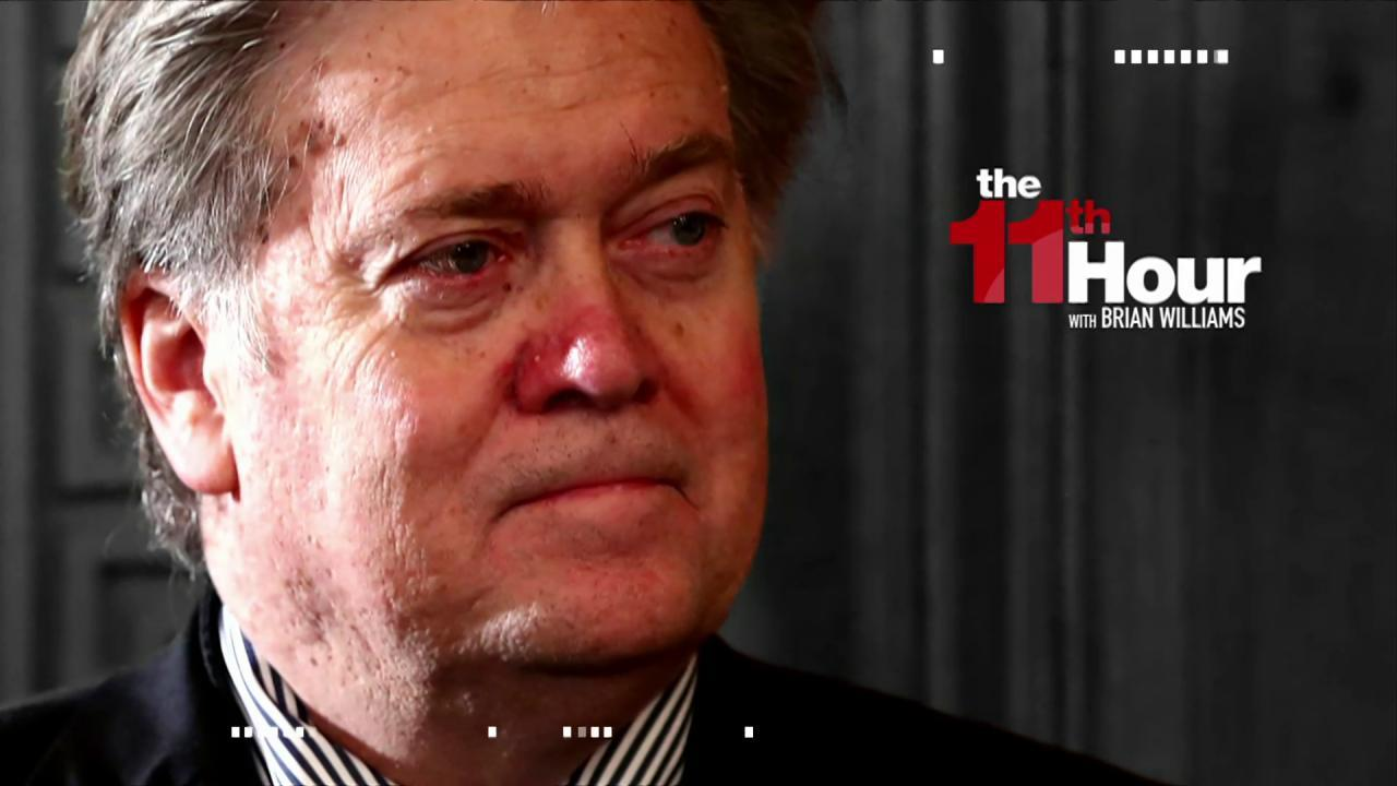 Report: Bannon threatened to quit after he...