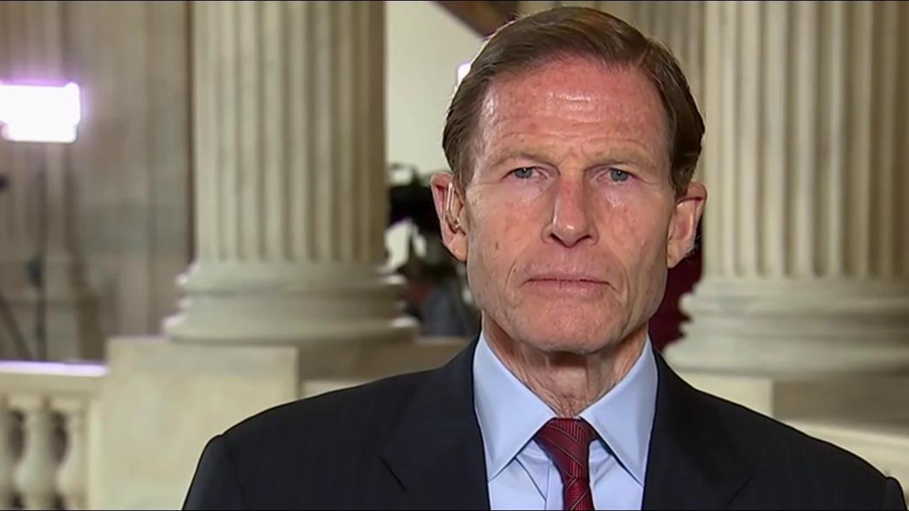 Sen. Blumenthal: Questions about lack of...