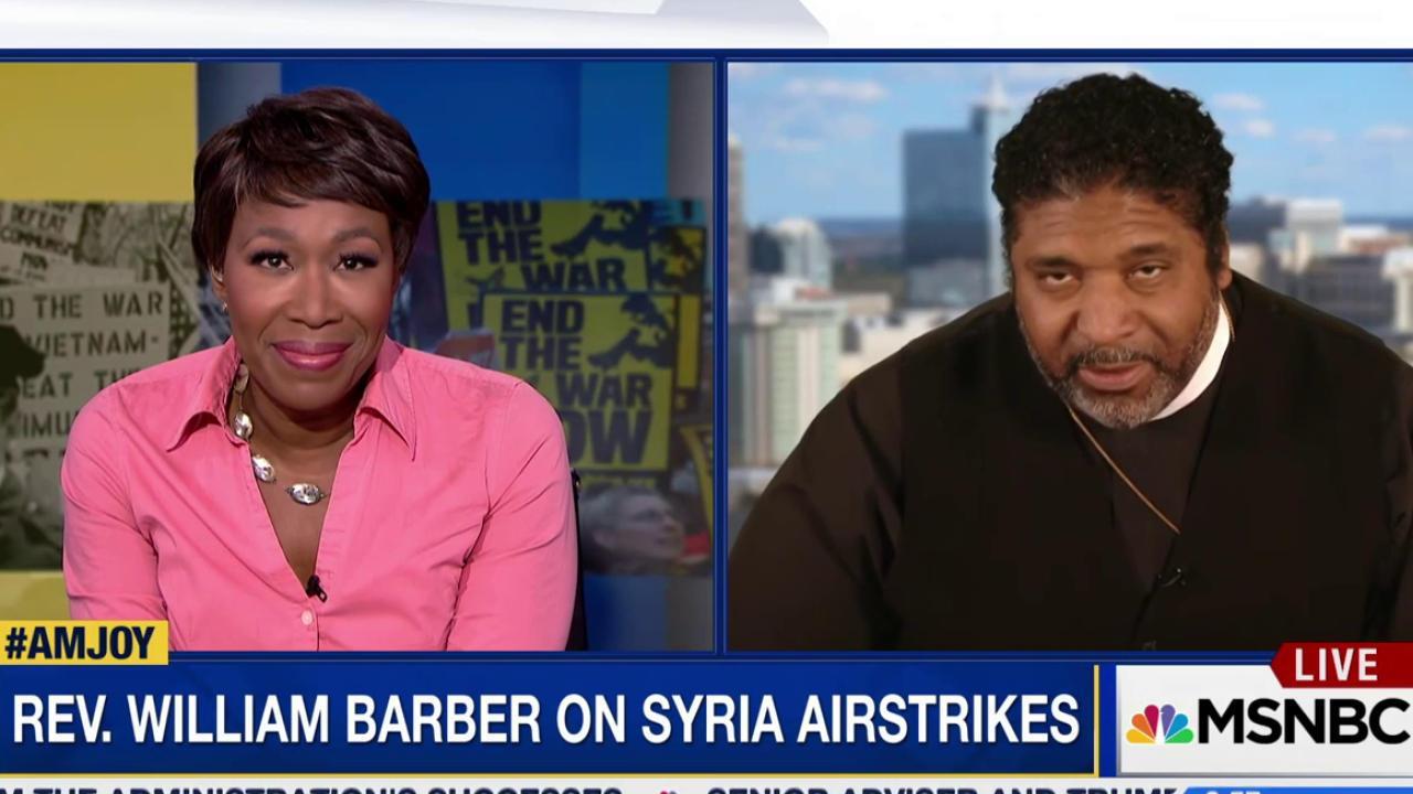 Barber: Trump Syria strikes 'antithesis of...