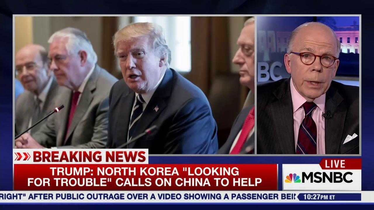 The world tests Trump