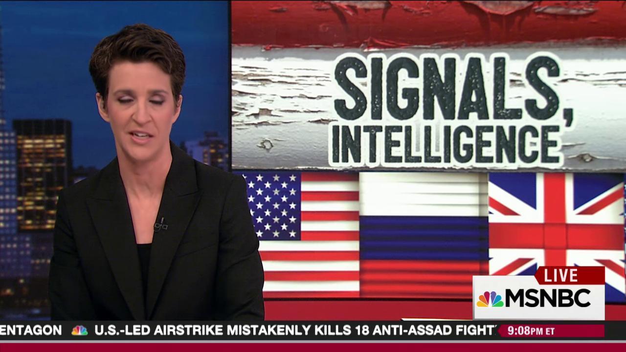 British intel spotted Trump camp Russia ties