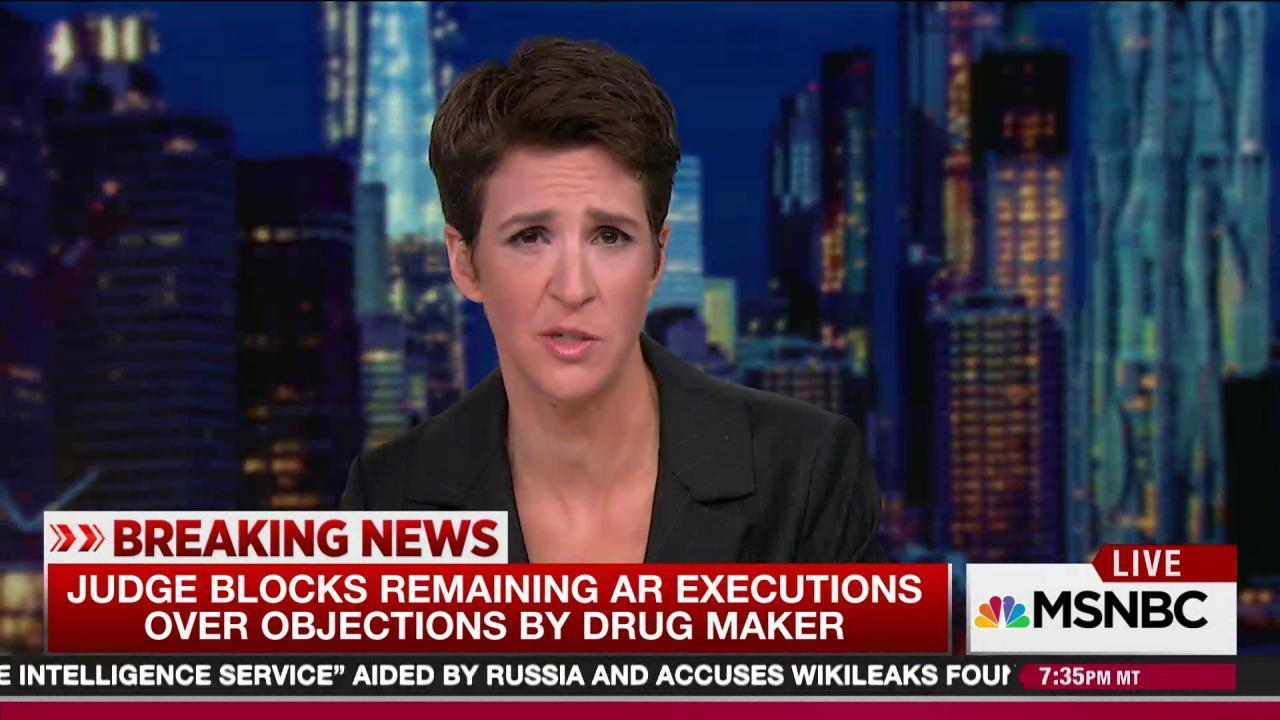 Judge holds up Arkansas execution spree