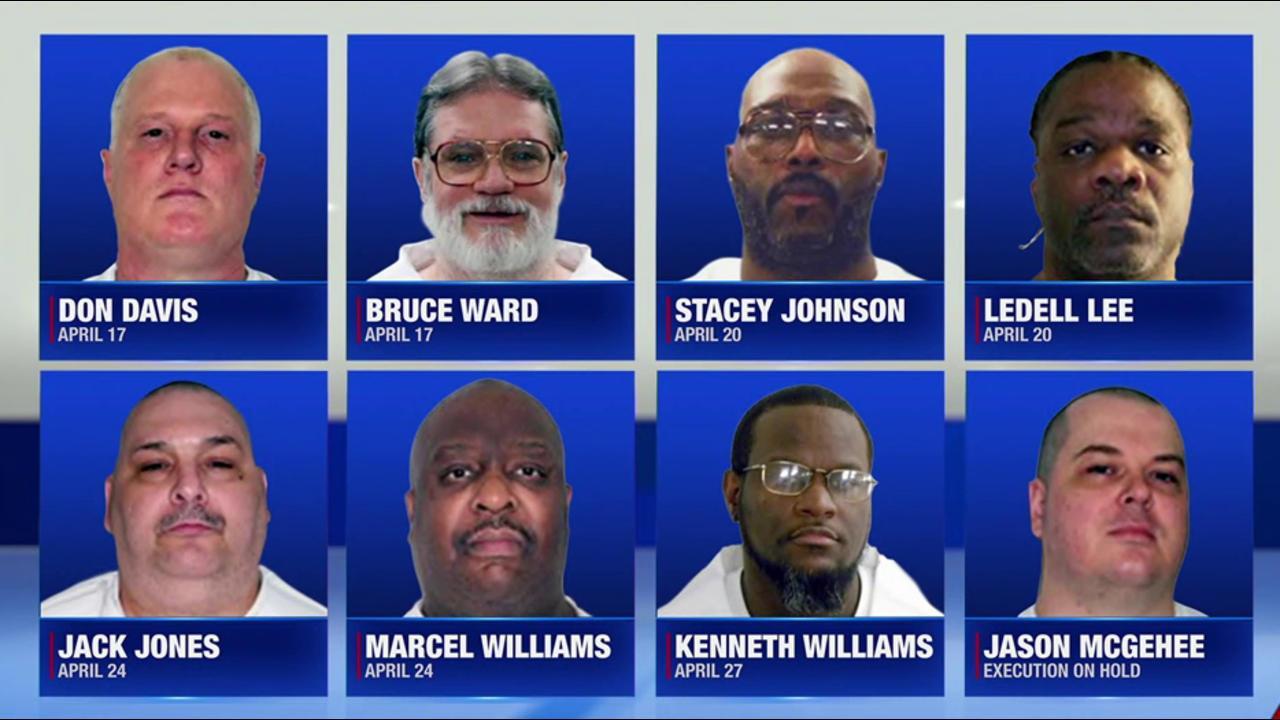 Arkansas execution spree on hold