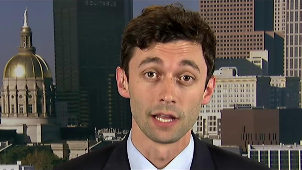 Ossoff on Trump: I don't have admiration...