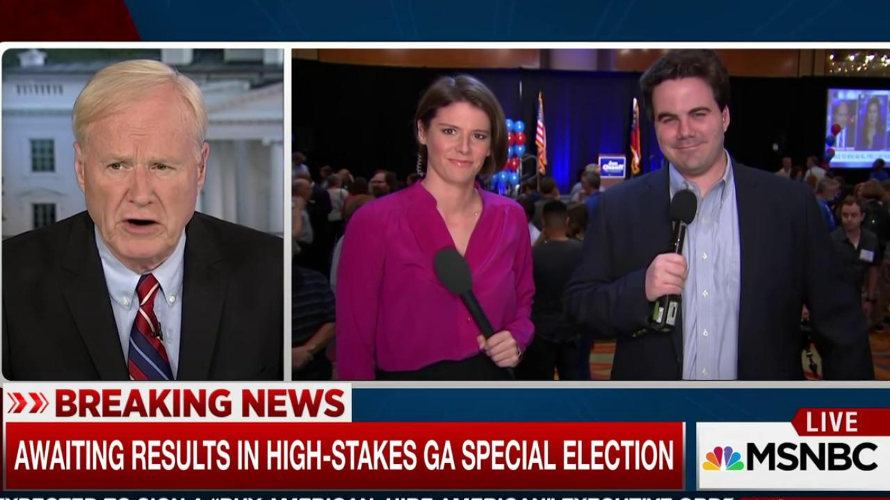 Awaiting high-stakes Georgia special election