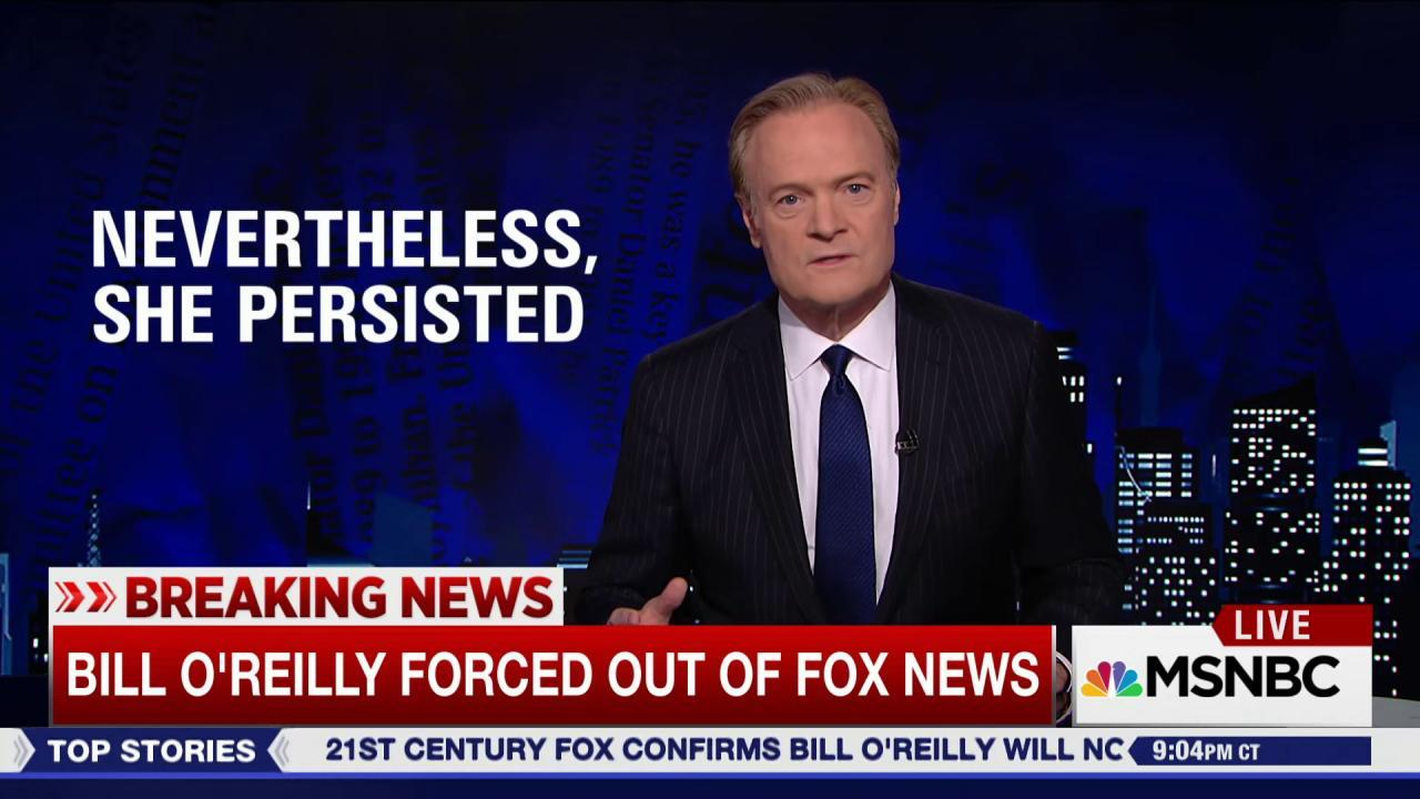 Bill O'Reilly's firing and the women who...