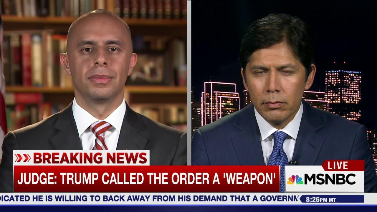 Judge blames Trump admin. for executive...