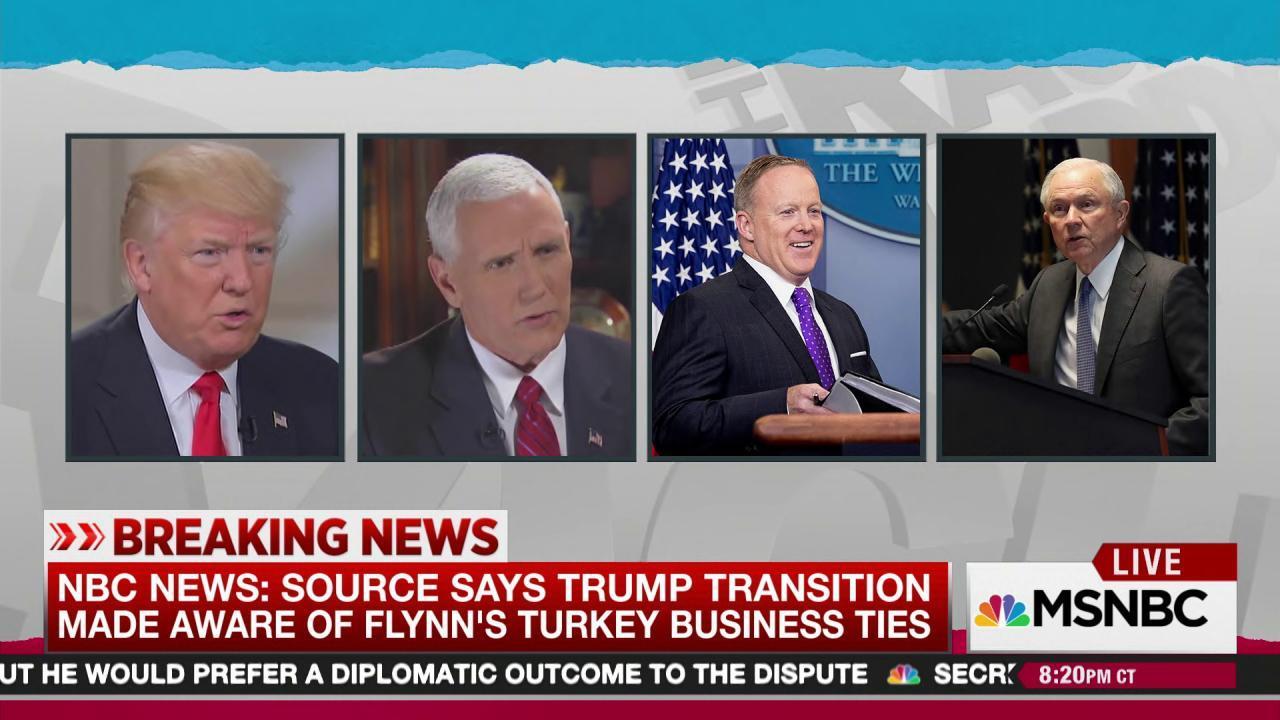 Trump team vetted Flynn, still hired him: NBC